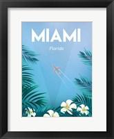 Framed Miami