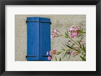 Framed Window Of Manosque Home In Provence