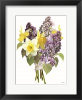 Framed Lilacs and Daffodils