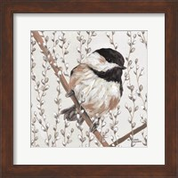 Framed Wee Chickadee