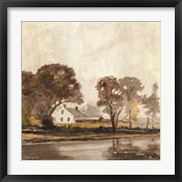 Framed Traditional Landscape 1