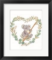 Framed Koala Love