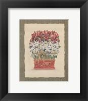 Framed Daisy Topiary