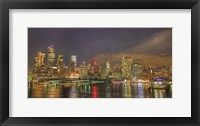 Framed City Lights