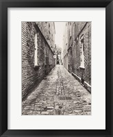 Framed Narrow Alley