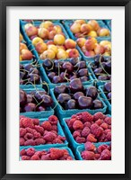 Framed Cherries and Berries