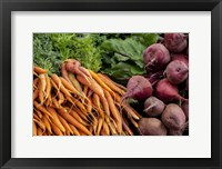 Framed Carrots and Beets
