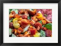 Framed Fresh Garden Salad