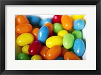 Framed Jellybeans in a Bowl