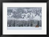 Framed Methow Valley Barn