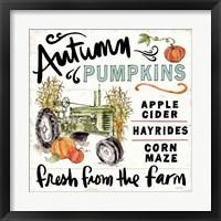 Framed Harvest Times X