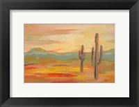 Framed Desert Saguaro