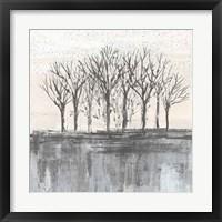 Framed Trees at Dawn II Neutral