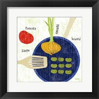 Cooking it II Framed Print
