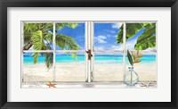 Framed Horizon Tropical