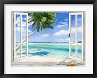 Framed Baie Tropicale