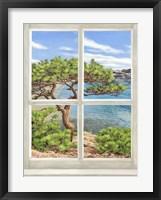 Framed Baie Mediterraneenne I