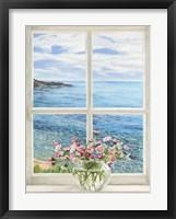 Framed Baie Mediterraneenne II