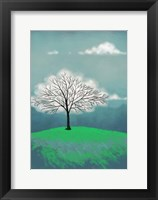 Framed Tree of Clouds