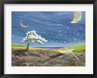 Framed La Grande Luna sta li a Guardare