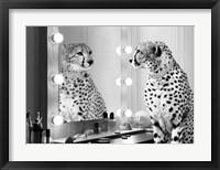Framed Wild Beauty (BW)
