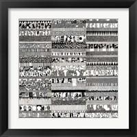 Framed Partitura Visiva I
