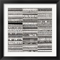 Framed Partitura Visiva II