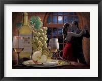 Framed Chardonnay And Moonlight