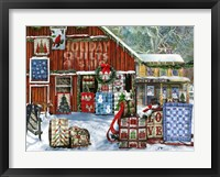Framed Holiday Quilts