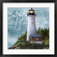 Framed Lighthouse IV