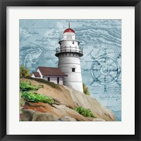 Framed Lighthouse V