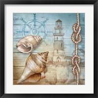 Framed Lighthouse VII