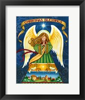 Framed Christmas Blessings Angel