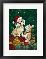 Framed Christmas Buddies