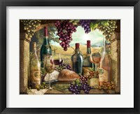 Framed Wine Country