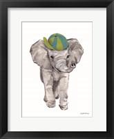 Framed Baby Elephant