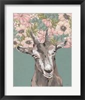 Framed Gertie the Goat