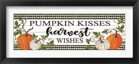 Framed Pumpkin Kisses
