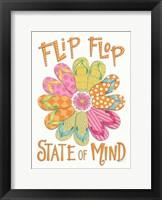 Framed Flip Flop State of Mind