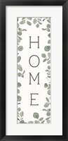 Framed Home Eucalyptus II