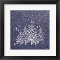 Framed Blue Winter