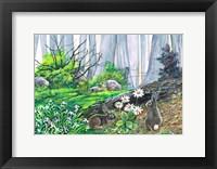 Framed Bunny Burrow