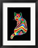 Framed Carnival Cats 1