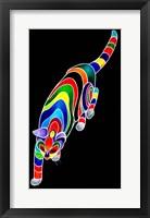 Framed Carnival Cats 2