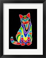 Framed Carnival Cats 3