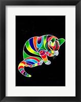 Framed Carnival Cats 4