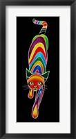 Framed Carnival Cats 6