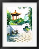Framed Chinese Garden