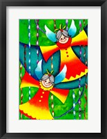 Framed Christmas Angels