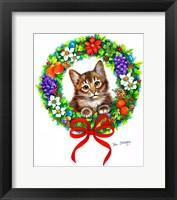 Framed Don't Forget Me Santa